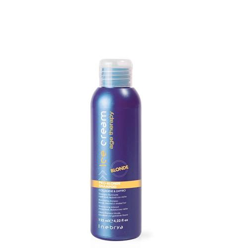 Inebrya Ice Cream Pro-Blonde shampoo 125 mL