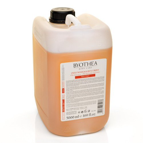 Byotea Neutral Massage Oil Coconut & Wheat Germ hierontaöljy 5 L