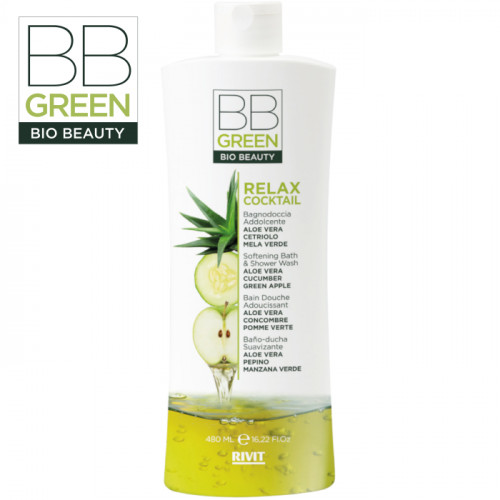 BB Green Bio Beauty Softening Bath & Shower Wash suihkugeeli 480 mL