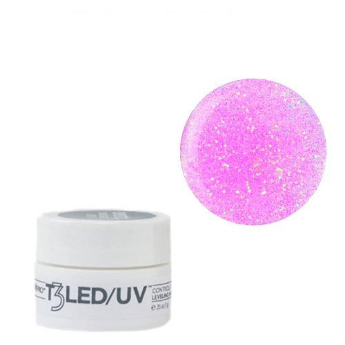 Cuccio Barbie Glitter T3 LED/UV Self Leveling Cool Cure geeli 7 g