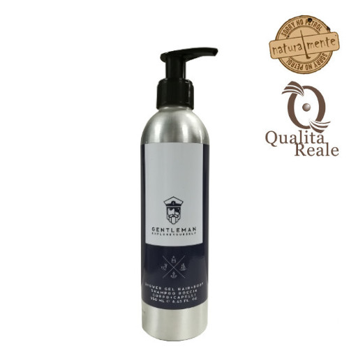 Naturalmente Gentleman Shower Gel Hair+Body suihkugeeli 250 mL