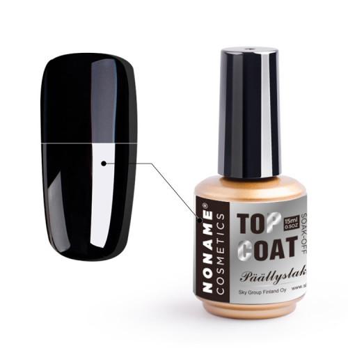 Noname Cosmetics UV/LED Top Coat Päällyslakka 15 mL