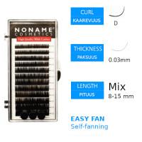 Noname Cosmetics Easy Fan Volyymiripset D 0.03 / 8-15mm