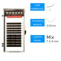 Noname Cosmetics Volyymiripset J 0.05 / 7&9mm