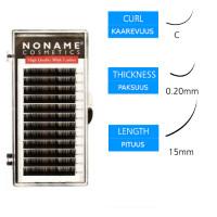 Noname Cosmetics Pidennysripset C 0.20 / 15mm