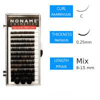 Noname Cosmetics Pidennysripset C 0.25 / 8-15mm