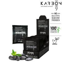 Echosline Karbon 9 Charcoal Extra Bleach 9T vaalennusjauhe 24 x 35 g