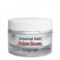 Universal Nails Paksu Roosa UV rakennusgeeli 10 g