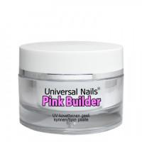 Universal Nails Pinkki UV rakennusgeeli 10 g