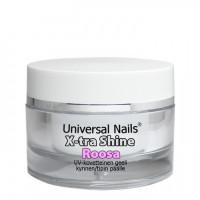 Universal Nails Roosa X-tra Shine UV päällysgeeli 10 g