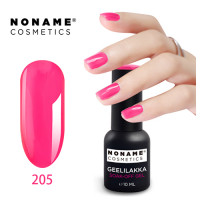 Noname Cosmetics #205 3-vaihe geelilakka 10 mL