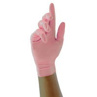 Unigloves Pink Pearl Nitriilikäsineet S 100 kpl