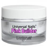 Universal Nails Pinkki UV rakennusgeeli 30 g