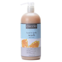 Cuccio Naturalé Milk & Honey Hands & Body Wash kuoriva käsi- ja vartalosaippua 960 mL