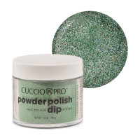 Cuccio Emerald Green Mica Powder Polish dippipuuteri 45 g