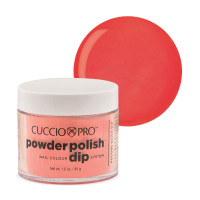 Cuccio Peach Powder Polish dippipuuteri 45 g