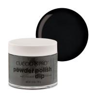 Cuccio Midnight Black Dip Powder Polish dippipuuteri 45 g