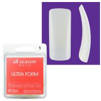 Star Nail Ultra Form Tipit täyttöpakkaus koko 1 50 kpl