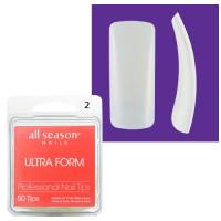 Star Nail Ultra Form Tipit täyttöpakkaus koko 2 50 kpl