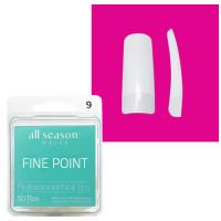 Star Nail Fine Point Tipit täyttöpakkaus koko 9 50 kpl