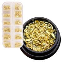 Noname Cosmetics Kultaiset metallikoristeet 30 g