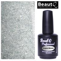 BeautQ Professional Hopea Metalli geelilakka 12 mL