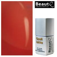BeautQ Professional Punainen geelilakka 12 mL