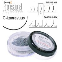 BeautQ Professional C-Pidennysripset 11 / 0.15 1 g