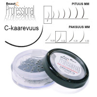 BeautQ Professional C-Pidennysripset 7 / 0.15 1 g