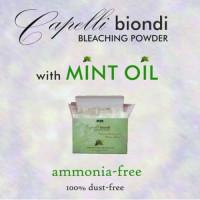 Casa Cosmetics Capelli Mint Oil Ammonia-Free vaalennusjauhe 500 g