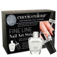 Cuccio Veneer Design Brushes kynsilakkapullot 6 kpl