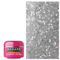 Noname Cosmetics Classic Silver Glitter UV geeli 5 g