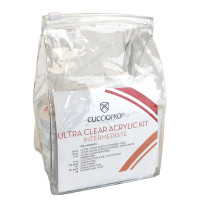 Cuccio Acrylic Ultra Clear Intermediate Kit aloituspaketti