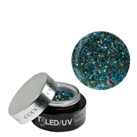 Cuccio Black Forest T3 LED/UV Self Leveling Cool Cure geeli 28 g