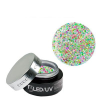 Cuccio Disco Bling T3 LED/UV Self Leveling Cool Cure geeli 28 g