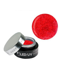 Cuccio Ruby Red T3 LED/UV Self Leveling Cool Cure geeli 28 g