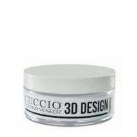 Cuccio Veneer 3D Design Powder Clear 3D-sekoitusjauhe 45 g