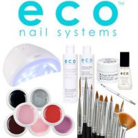 Eco Nail Systems Soak Off Aloituspaketti SUN One UV & LED-uunilla