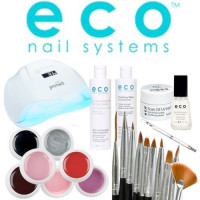 Eco Nail Systems Soak Off Aloituspaketti Promed UVL-54 UV & LED-uunilla