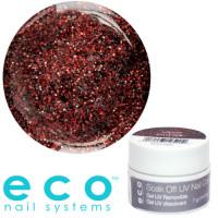 Eco Nail Systems Vamp Glitter Eco Soak Off geelilakka 7 g