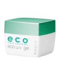 Eco Nail Systems Eco Clear Ohut Kirkas UV-geeli 28 g