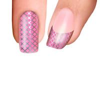 Trendy Nail Wraps Coney Island Pink Kynsikalvo koko kynsi