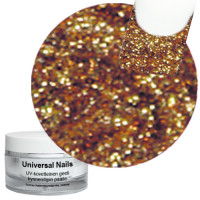 Universal Nails Heleä Kupari UV glittergeeli 10 g