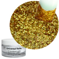 Universal Nails Intensiivinen Kulta UV glittergeeli 10 g