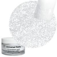 Universal Nails Valkoinen Tähti UV/LED glittergeeli 10 g