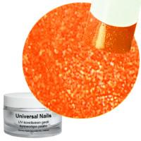 Universal Nails Neon Mandariini UV/LED glittergeeli 10 g