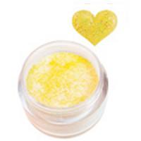 Sina Vaaleankeltainen Glitter akryylipuuteri 5,1 g