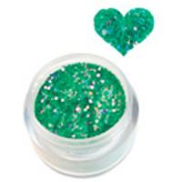 Sina Vihreä Glitter akryylipuuteri 5,1 g