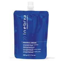 Inebrya Bleach Cream Keratin & Argan sininen vaalennusvoide 500 g