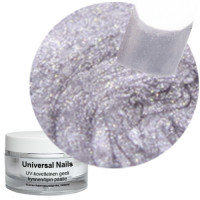 Universal Nails Jäinen Hopea UV metalligeeli 10 g